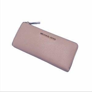 Michael Kors Jet Set Accordion Wallet Pink